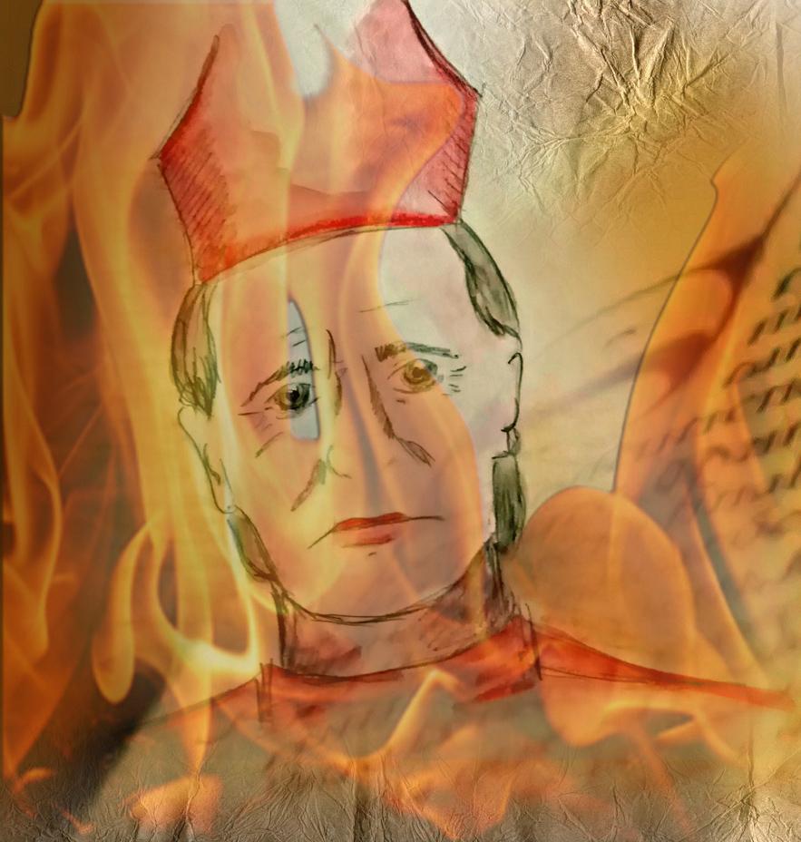 Geoffroy soreau de st geran comte et eveque de chalons abbe de saint germain des pres le marteau des sorcieres le malleus maleficarum les sorcieres de sarry