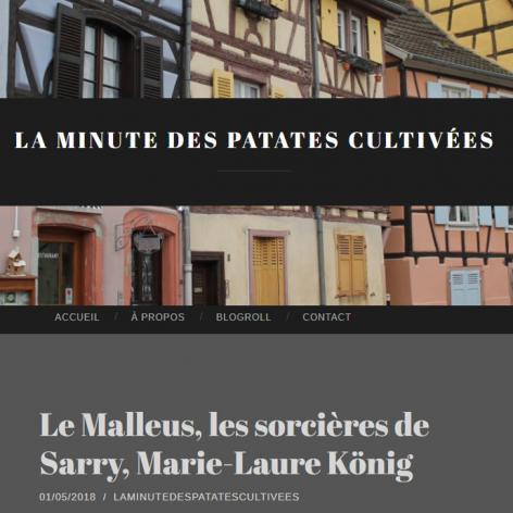 La minute des patates cultivees blog litteraire