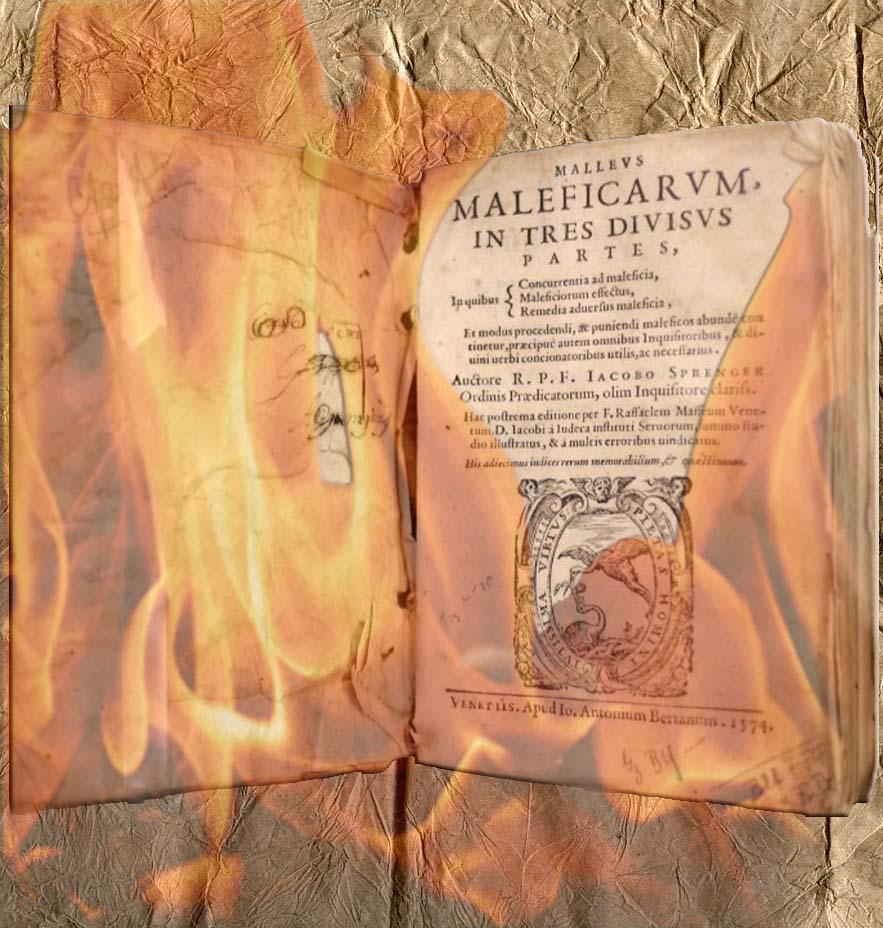 Le marteau des sorciere le malleus maleficarum les sorcieres de sarry